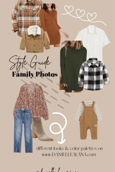 Style Guide: Family Photo Lookbook